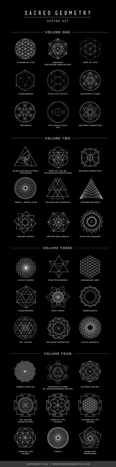 Sacred Geometry  |  Hand-drawn Design Elements