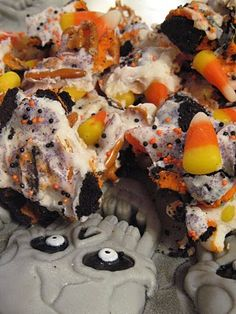 Crae's Creations: Candy Corn Bark