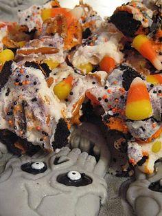 Crae's Creations: Candy Corn Bark