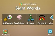 Help your kid achieve reading fluency with Learning Touch's newest app, First Sight Words Professional! With over 300 of the most common words in the English language, this app focuses on the core vocabulary your children will need throughout their lives. Based on the Dolch Word List, First Sight Words Professional uses the same child-friendly …