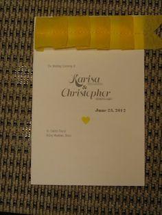 Signed, Sewn, Pleated  :  wedding chicago diy stationery pleated invitation idea