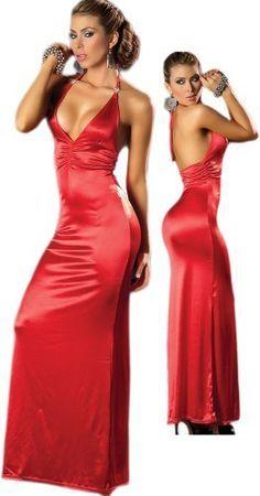 Dámske Elegantné Červené Šaty Lussy. Cena : 24,00 €