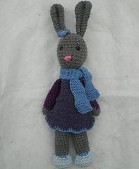 Ravelry: Yarnigans Amigurumi Bunny free pattern by Rachel Borello Carroll