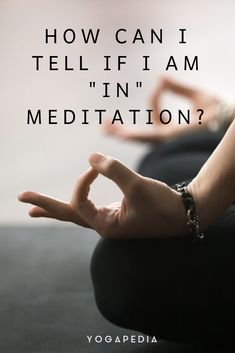 Any time we are still and cultivating attention, we are in meditation.  #meditation #yoga