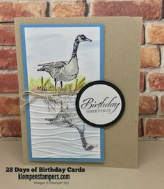 Klompen Stampers (Stampin' Up! Demonstrator Jackie Bolhuis): 28 Days of Birthday Cards -- Day #10