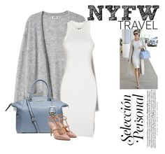 """NYFW"" by natasha-bozjic ❤ liked on Polyvore featuring DRKSHDW, Michael Kors, Valentino, michael and valentino"