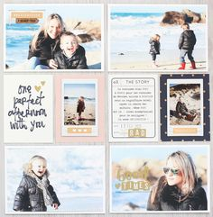 "Le scrap d'Amélie: April ""life story kit"" from Blinks Of Life"