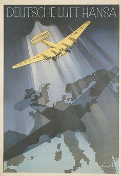 Deutsche Lufthansa Poster