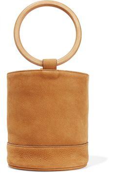 ❖ Simon Miller | Bonsai 20 Nubuck Bucket Bag | available here | via theclosetheroes ❖
