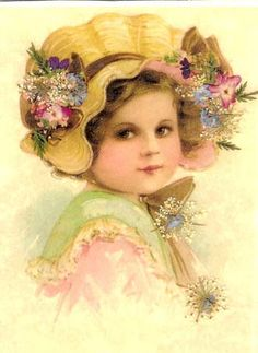 quenalbertini: Vintage Little Girl with Bonnet Image Images Vintage, Vintage Pictures, Vintage Postcards, Decoupage, Vintage Girls, Vintage Children, Vintage Prints, Victorian Pictures, Victorian Art