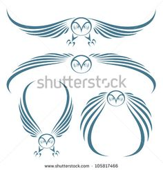 snowy owl tattoo - Google Search
