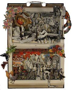 KERRY MILLER http://www.widewalls.ch/artist/kerry-miller/ #fine #art #sculpture