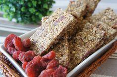 Barrinha de Cereal de Morango | Receitas e Temperos