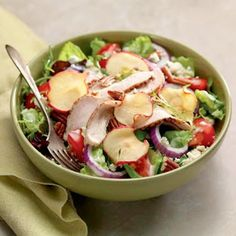 Panera Bread Restaurant Copycat Recipes: Fuji Apple Chicken Salad I get this a lot from Panera. It will be nice to not have to pay $10 for it!