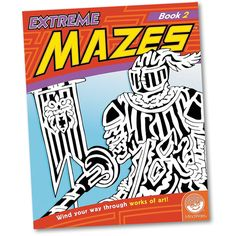 Extreme Mazes - Book 2 and thousands more of the very best toys at Fat Brain Toys. Each page you turn to reveals another astoundingly intricate maze designed inside a brilliant work of art. A medieval knight, a roller coaster, Big Ben, the Taj Mahal, the Eiffel Tower, and more - Each one is more mesmerizing and more brain-busting than the last!