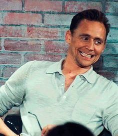 "Nerd HQ. Audience member: ""You're on my pants."" - Tom's reaction https://www.youtube.com/watch?v=Qeu92u3rLTs"
