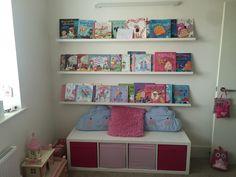 Kinderzimmer stauraum ~ Ikea regale kallax stauraum sitzbank kinderzimmer kinder