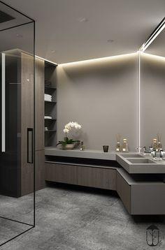 61 Ideas Bathroom Shower Storage Ideas Sinks For 2019 Bad Inspiration, Bathroom Inspiration, Bathroom Ideas, Bathroom Design Luxury, Home Interior Design, Modern Interior, Dream Bathrooms, Amazing Bathrooms, Bathroom Doors