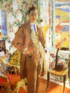 Portrait du Sculpteur by Rik Wouters (Belgian, 1882-1916)