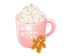 i draw pixel stuff Pixel Art Food, Chibi Food, Pix Art, Kawaii Illustration, Kawaii Doodles, Goth Art, Iphone Icon, Game Item, Cute Food