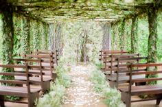 Wedding Details with Greenery - Articles & Advice | mywedding.com