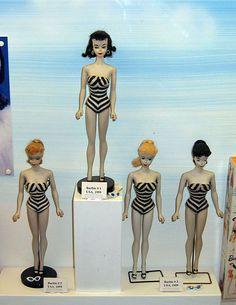 Barbies en un museo de Polonia