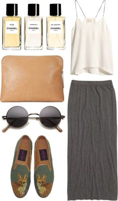 Maxi Skirt and Chanel