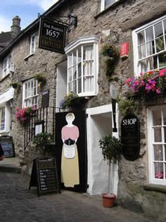 1657 Chocolate House, Kendal, UK, serve 18 varieties of hot chocolate, a must after a long walk