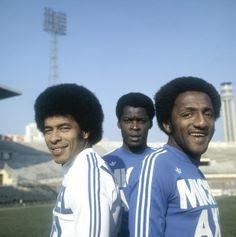 Jairzinho, Marius Trésor et Paulo César (Olympique de Marseille)
