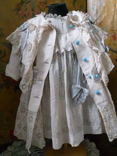 ~~~ Fantastic Three Piece French Pique BeBe Costume ~~~