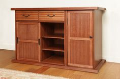 Contemporary Tansu-Style Buffet - Reader's Gallery - Fine Woodworking