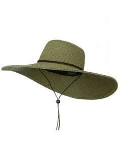 c995d9a970f Womens Wide Brim Floppy Two Tone Black Packable Sun Hat with Chin Cord  C911JDN7IH5
