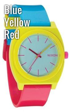 Nixon 'The Time Teller' Watch | Nordstrom