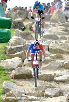 London 2012 mtb Julien absalon