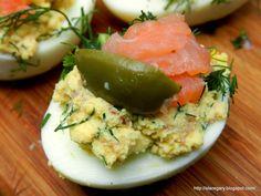 Stare Gary: Jajka faszerowane wędzonym łososiem