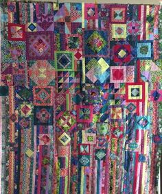 Gypsy Wife Quilt top - one of these is now on my to-do list