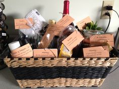 what to put in a housewarming gift basket easy craft ideas