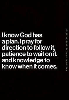 When you feel lost, pray for direction and guidance~
