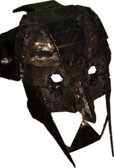 wearable scrap metal mask