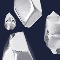 #silver #c4d #crystals by romtigny