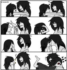 Okay not to be rude but I dont approve of this ship if you're a creepypasta fan you would know that Jane hates Jeff and they try to kill each other everyday of every hour soooo... I still dont ship it, but I do respect those that do ship it, not my life, not my ship, not my choice.