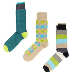 colorful men's socks