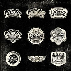 Gascap Motor's, Logotypes - Alex Ramon Mas StudioAlex Ramon Mas Studio