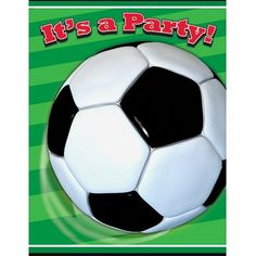 Soccer Party Invitations 8ct *** You can get additional details at the image link.Note:It is affiliate link to Amazon.