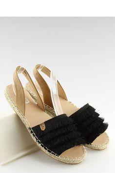 Fashion e-Shop Παπούτσια Σανδάλια - Μαύρο - 140-INELLO348 cef0e089086