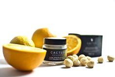Lovely shot of the light balancing creme from Cactus Skincare.