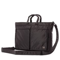 Porter - Tanker Briefcase Type A - Black Made in Japan
