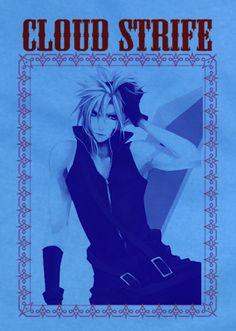 Custom Fanmade Final Fantasy Cloud Strife Sephiroth T-Shirt Tee Tshirt