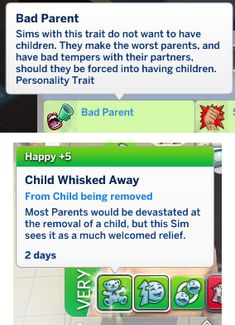 Bad Parent Trait - The Sims 4 Catalog The Sims, Sims 4 Mm, Sims Mods, Sims 4 Game Mods, Sims 4 Traits, Sims 4 Gameplay, Sims 4 Cc Packs, Sims 4 Build, Shopping
