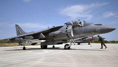 150325-N-YB753-110.JPG (3000×1728) an AV-8B Harrier assigned to the Bulldogs of Marine Attack Squadron (VMA) 223